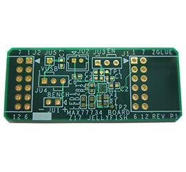 2.7mil线宽PCB