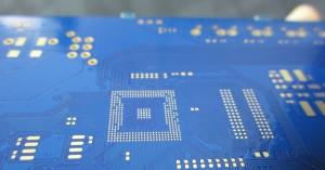 蓝色PCB电路板